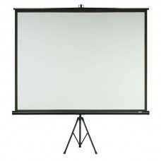 "Verhuur scherm 100"" tbv DLP projector zicht 2 x 1.50m (4:3)"