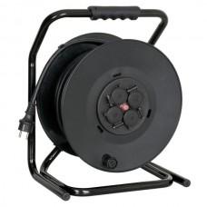Verhuur Verlengkabel 230V Haspel 50 Meter- Met 50 m rubberen kabel 3 x 2,5 mm3