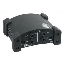 Verhuur DAP-Audio PDI-200 - Stereo passieve direct injection-box