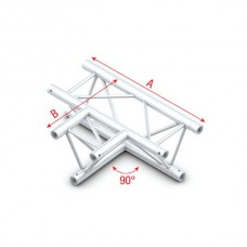 Verhuur ATF36 Truss T Cross FT30017 (Prolyte X30D C017 Compatible)
