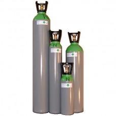 CO2 fles 30 liter met stijgbuis (ca 60 sec.)