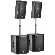Verhuur JBL PRX715-718 Set