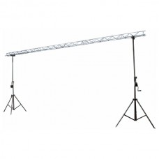 Verhuur 6 meter 30*30 triangle truss + 2 windup