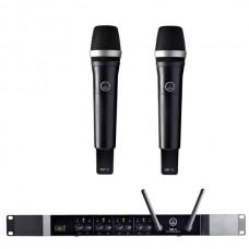 Verhuur AKG DMS70Q + 2x DHT70 Handmicrofoon