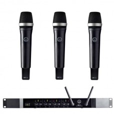 Verhuur AKG DMS70Q + 3x DHT70 Handmicrofoon