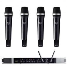Verhuur AKG DMS70Q + 4x DHT70 Handmicrofoon