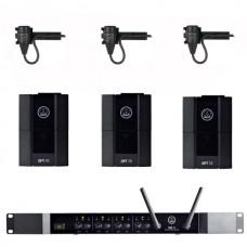 Verhuur AKG DMS70Q + 3x Beltpack + rever microfoon