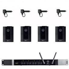 Verhuur AKG DMS70Q + 4x Beltpack + rever microfoon