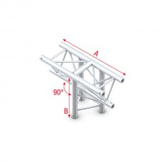 Verhuur ATF35 Truss T Cross FT30018 (Prolyte X30D C018 Compatible)
