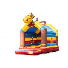 Verhuur JB Inflatable Springkussen Aap 5.2 x 4 x 4 meter