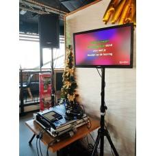 Verhuur karaoke set  Party 2 (Meer dan 30000 nummers)