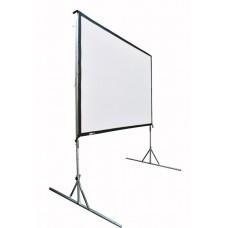 Verhuur vouwscherm DOORZICHT tbv LCD / DLP projector 16:9