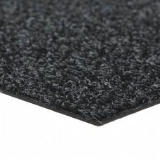 Verhuur CS Tapijttegel 1x1 meter zwart / grijs